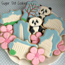 Wedding Custom Sugar Cookies, Frederick, Md Maryland Favors Beach