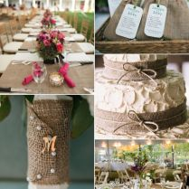 Wedding Decor Inspiration Burlap