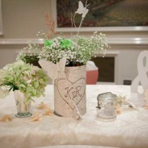 Wedding Decoration Cute And Gourgeous Dining Table Idea For