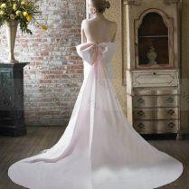 Wedding Dress With Big Bow On Back