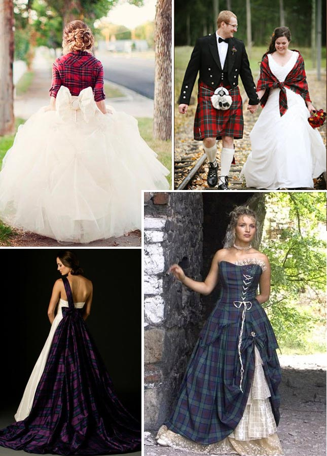 Traditional Scottish Wedding Dress