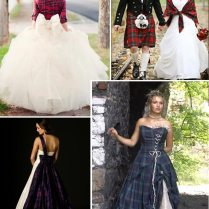 Wedding Dresses Highland Tartan Edinburgh