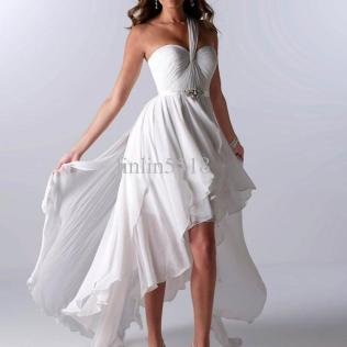 Wedding Dresses Short In Front Long In Back