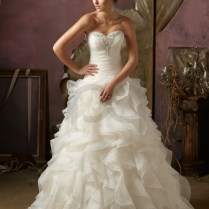 Wedding Dresses With Ruffles