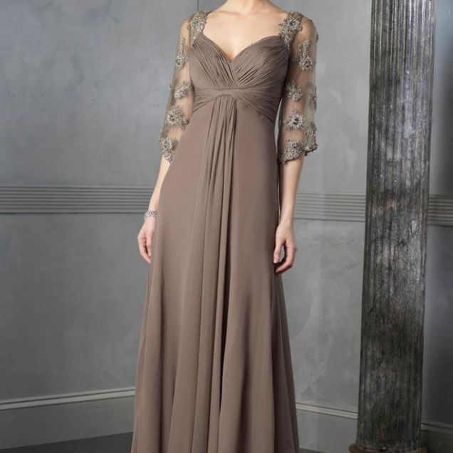 Wedding Dresses With Sleeves For Older Brides Uk