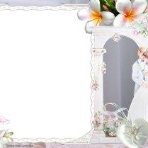 Wedding Flowers Background