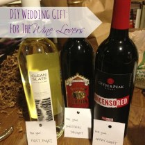 Wedding Gift For The Wine Lovers