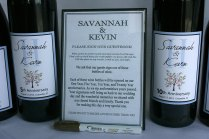 Wedding Guestbook Kit Wine Bottle Wedding Guest By Sugarvineart