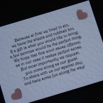 Wedding Invitation Poems For Money Gifts