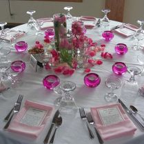 Wedding Reception Table Decorations Diy On Decorations With Diy