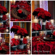 Wedding, Red Black And Silver Weddings On Emasscraft Org