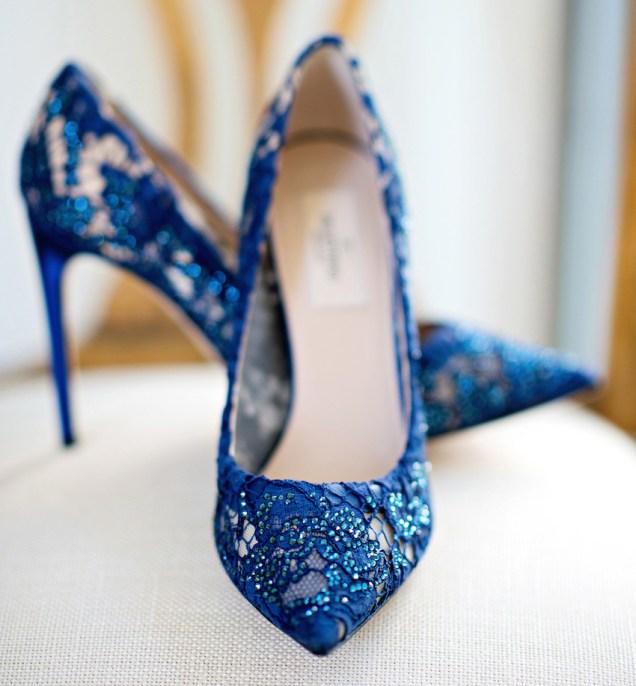 Wedding Shoes Something Blue Bridal Shoes