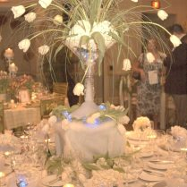 Wedding Table Centrepiece Endearing Wedding Table Centerpiece