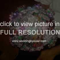 Wedding Tag Brooch Bouquet