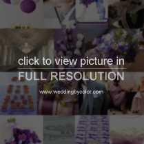 Wedding Tag Eggplant