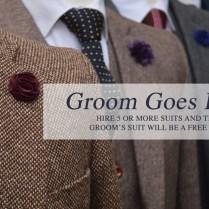 Wedding Tweed Suit Hire