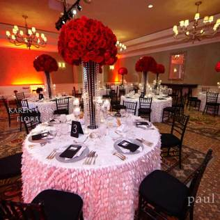 White And Red Wedding Decorations