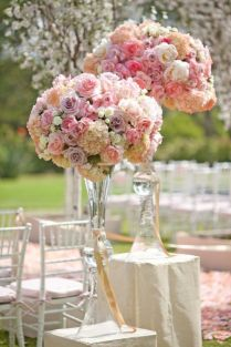Wholesale Wedding Trumpet Simple Wedding Centerpiece Vase