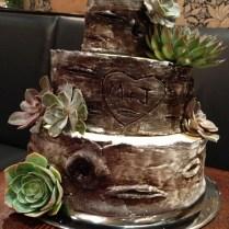 Wood Wedding Cakes, Chocolate Fondant And Rustic Wood On Emasscraft Org