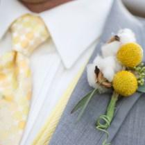 Yellow & Gray Texas Ranch Wedding