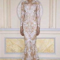 Zuhair Murad Boho Lace Wedding Dress