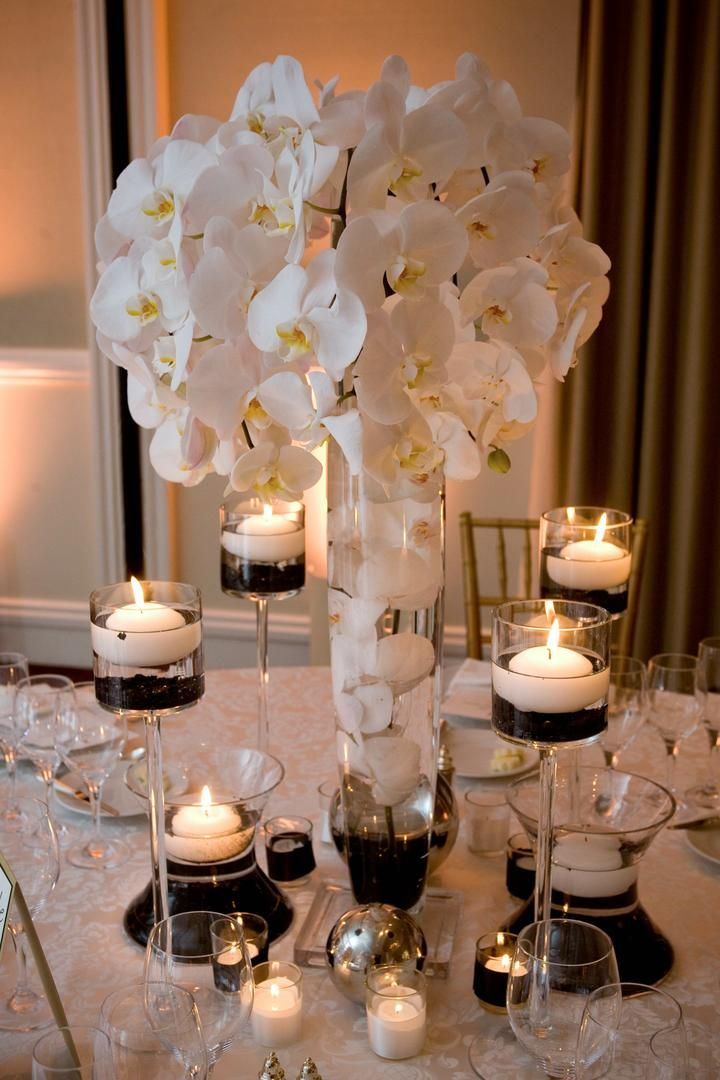 Orchid Wedding Centerpieces