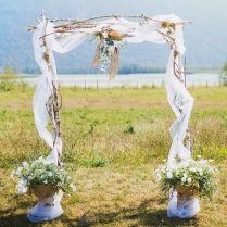 1000 Ideas About Rustic Wedding Arbors On Emasscraft Org
