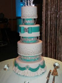 1000 Ideas About Tiffany Wedding Cakes On Emasscraft Org