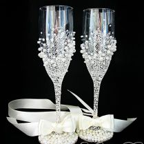 1000 Ideas About Wedding Champagne Flutes On Emasscraft Org