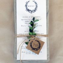 1000 Ideas About Wedding Menu Cards On Emasscraft Org