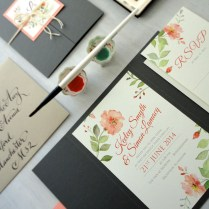 1000 Images About Aquarelle Wedding Invitation On Emasscraft Org