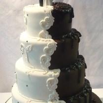 1000 Images About Half & Half Wedding Cakes On Emasscraft Org