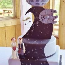 15 Unique Star Wars Wedding Cake Ideas