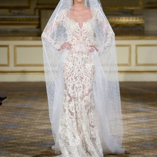 17 Simply Stunning Sheer Wedding Dresses