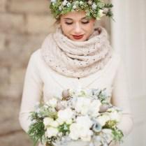 18 Cozy Winter Wedding Outerwear Looks
