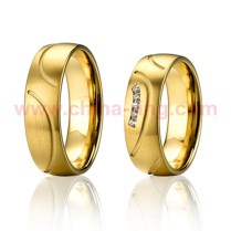 2013 New Design Wedding Rings Couple