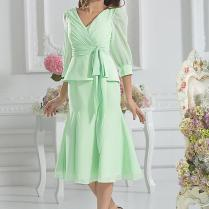 2015 Short Mother Of The Bride Mint Knee Length Mother Dresses For