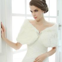 2017 2015 Winter Wedding Dress Wraps And Jackets Bridal Dress Gown