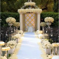 20 Wedding Aisle Décor Ideas That Will Blow Your Mind