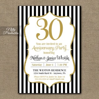 30th Wedding Anniversary Ideas For Pas Damask 30th Wedding