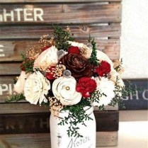 35 Amazing Winter Wedding Bouquets You'll Love