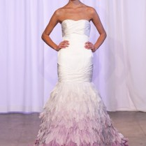 7 Colorful Wedding Dresses For A Non