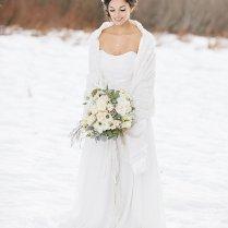 7 Of Our Favorite Christmas Wedding Dress Ideas