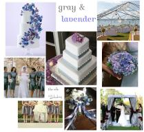 A Special Day In Lavender And Gray