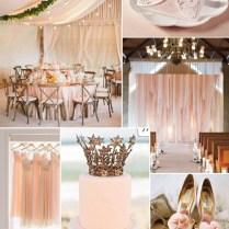 Affordable Romantic Laser Cut Blush Pink Lace Wedding Invitation