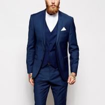 Aliexpress Com Buy 2016 New Arrival Men Tuxedos Blue Wedding