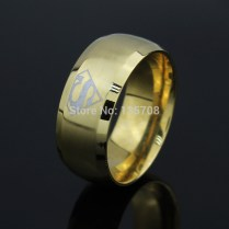 Aliexpress Com Buy 2016 New Fashion Superman Ring Stainless