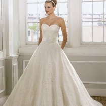 Aline Sweetheart Lace Wedding Dress On Wedding Dresses With