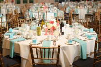 Ashley & Robert's {coral & Tiffany Blue} Summer Wedding