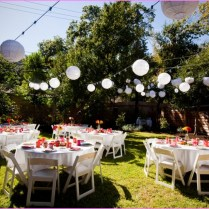 Back Yard Wedding Ideas Cute Of Wedding Reception Ideas With
